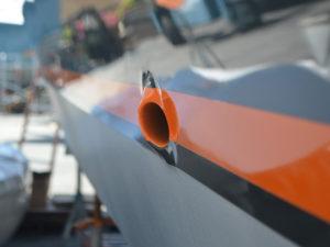 Hull Painting Services at the CAY Marine Boatyard Miami