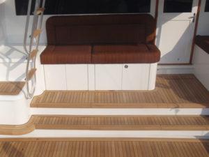 Mezzanine Reconfiguration & Repair at the CAY Marine Boatyard Miami